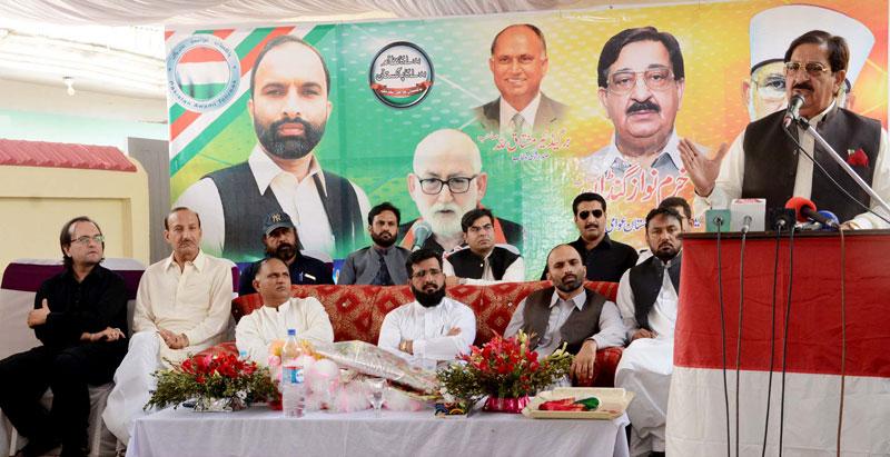اسلام آباد: سیکرٹری جنرل عوامی تحریک خرم نواز گنڈاپور کا ورکرز کنونشن سے خطاب