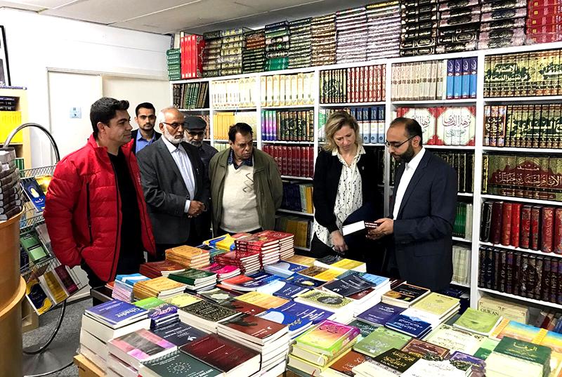 کیپیٹل ریجن ڈنمارک کی صدر کا منہاج القرآن انٹرنیشنل ڈنمارک کے سنٹر کا دورہ