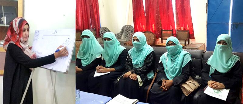 منہاج القرآن ویمن لیگ کی جہلم میں ٹریننگ ورکشاپ