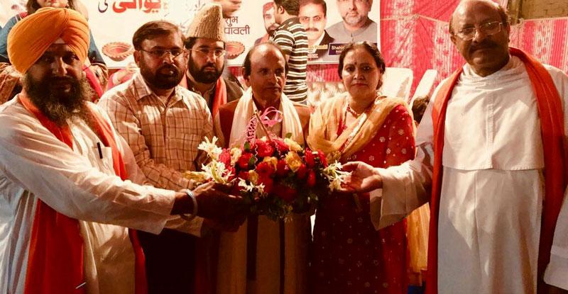 دیوالی کی تقریب میں منہاج القرآن کے رہنما سہیل رضا کی شرکت