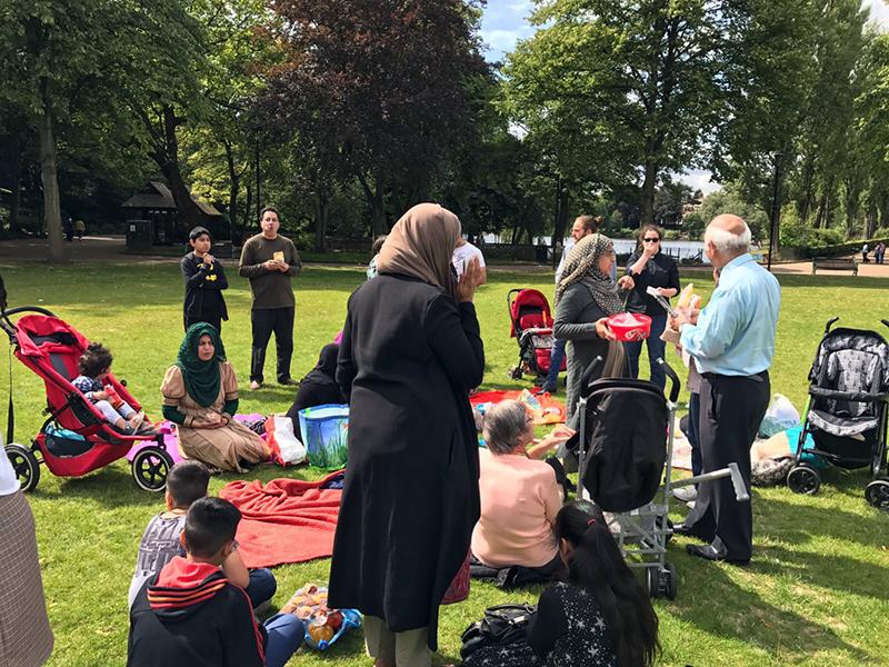 'Get Together' event held in Arboretum Park