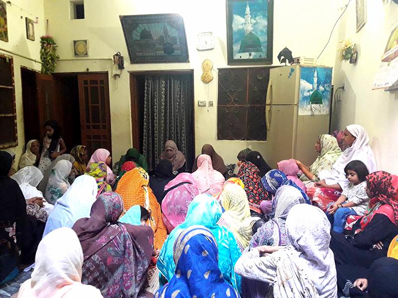 جہلم: منہاج القرآن ویمن لیگ کوٹلہ فقیر کے زیراہتمام 10 روزہ محافل