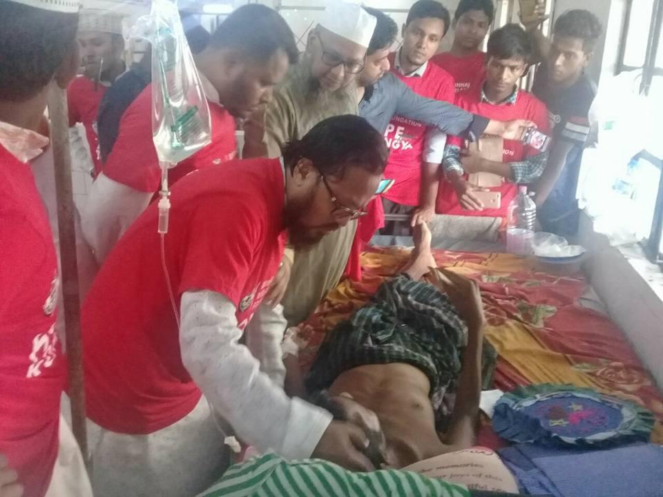 منہاج ویلفیئر فاؤنڈیشن بنگلہ دیش کا روہنگیا مسلمانوں کے لیے امدادی کیمپ