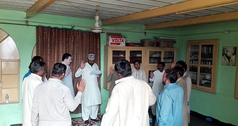 راجن پور: پی پی حلقہ 249 کی تنظیم سازی