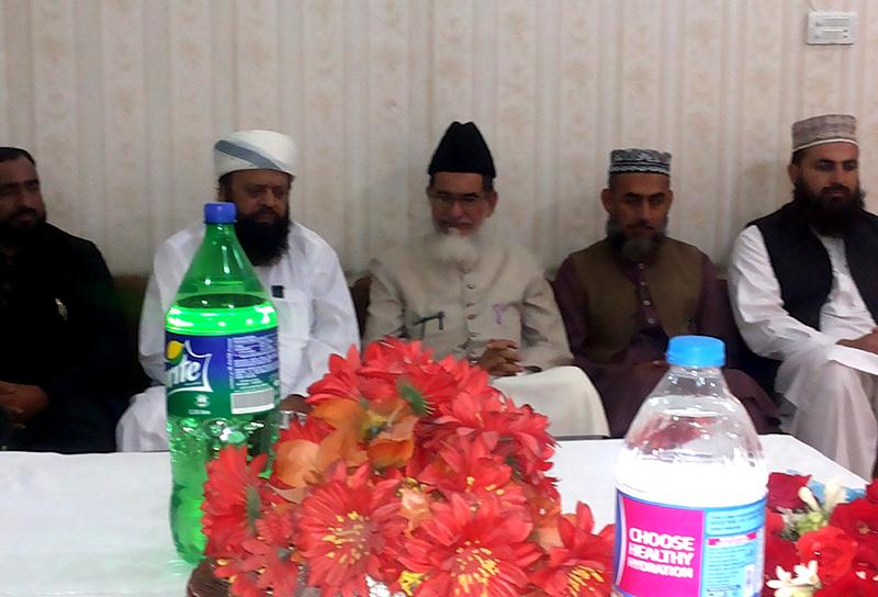 پی ایچ ڈی کی تکمیل پر ڈاکٹر محمد افضل کانجو کے اعزاز میں استقبالیہ