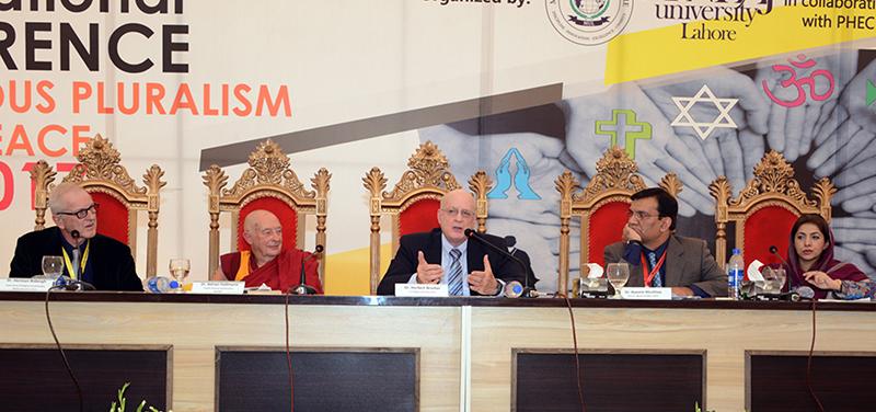 مذہب کا سچا پیروکار دہشتگرد نہیں ہو سکتا، منہاج یونیورسٹی میں عالمی امن کانفرنس