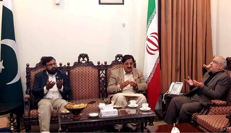 عوامی تحریک کے سیکرٹری جنرل خرم نواز گنڈاپور کی ایرانی قونصل سے ملاقات