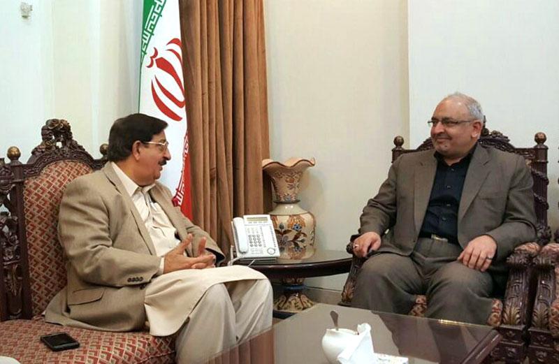 عوامی تحریک کے سیکرٹری جنرل خرم نواز گنڈا پور کی ایرانی قونصل جنرل سے ملاقات