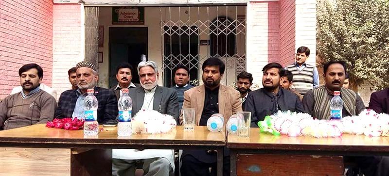 حافظ آباد: منہاج القرآن  یوتھ ویلفیئر سوسائٹی کا سرکاری سکول میں واٹر پلانٹ کا افتتاح