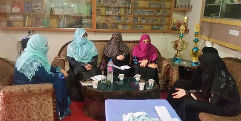 منہاج القرآن ویمن لیگ جہلم کی تحصیلی میٹنگ