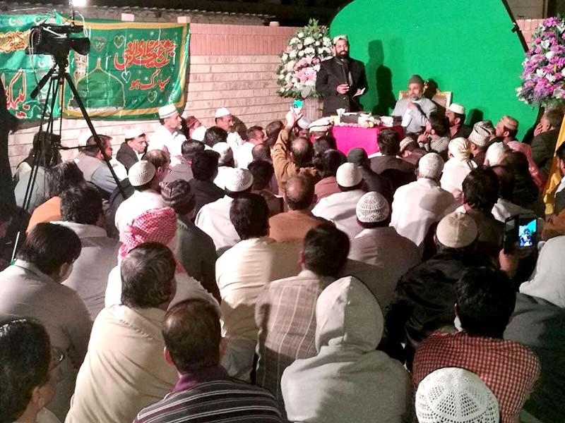 کویت: منہاج القرآن انٹرنیشنل جہرا کے زیراہتمام محفل میلاد