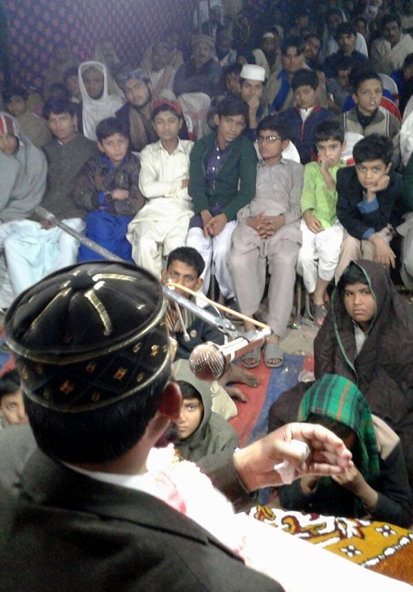 راجن پور: لعل گڑھ میں درس قرآن