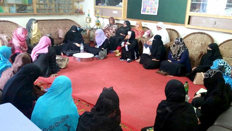 جہلم: منہاج القرآن ویمن لیگ کی محفل میلاد