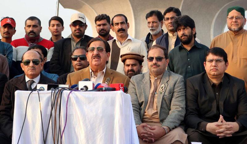 Khurram Nawaz Gandapur Press Conference - 29 November 2017