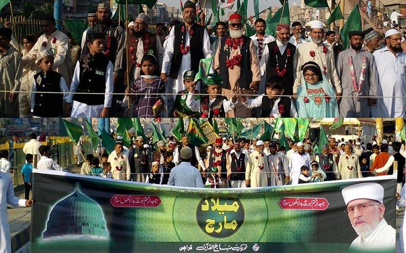 کراچی: تاجدار ختم نبوت میلاد مارچ