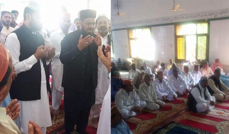 نواب شاہ میں علامہ محمد لطیف مدنی کا درس عرفان القرآن