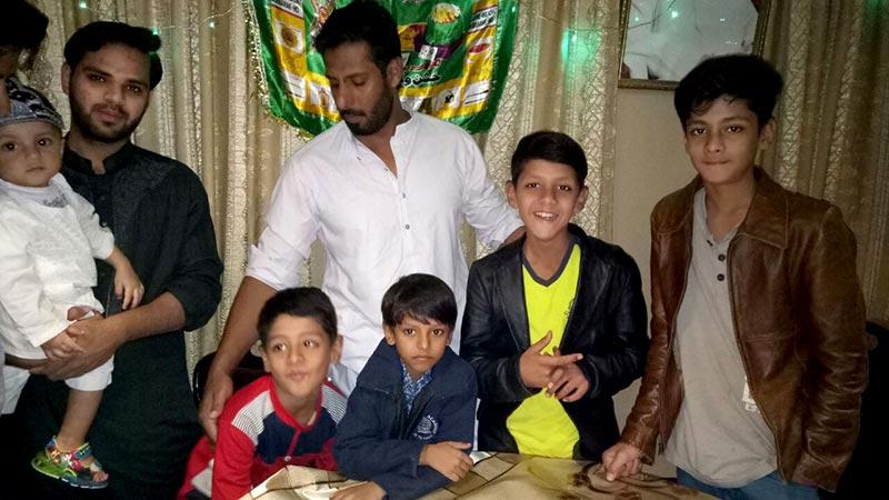 حیدرآباد: سید مشرف شاہ کی رہائش گاہ پر میلاد کی  تقریب