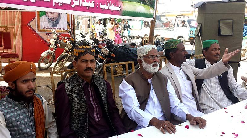 حیدرآباد: میلاد کے استقبالی جلوس کے لیے کیمپ