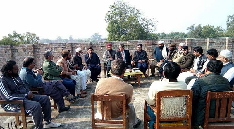 ضلع جھنگ کے پی پی حلقہ جات کے صدور و ناظمین کا اجلاس