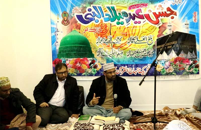 ڈبلن: محفل میلاد میں علامہ محمد عدیل کا خطاب