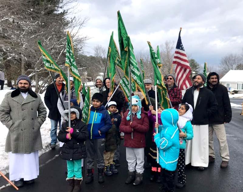 امریکہ: کنیٹیکٹ میں دوسرا سالانہ میلاد جلوس