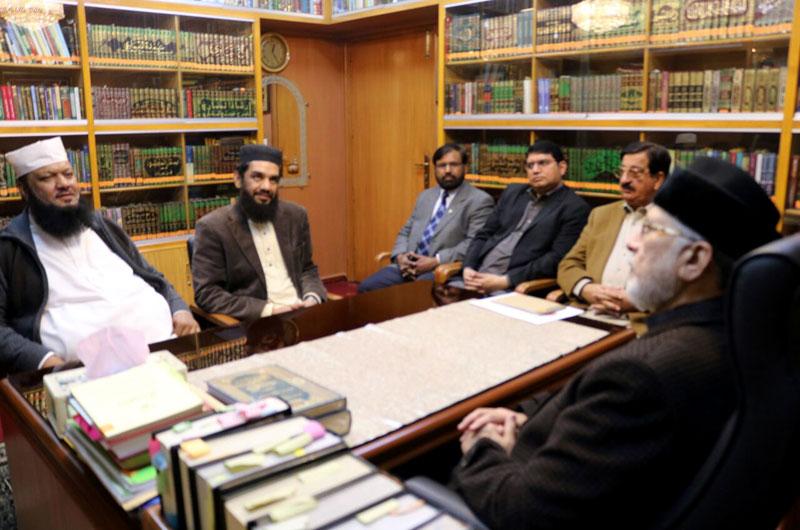 Maulana Ajmal Qadri calls on Dr Tahir-ul-Qadri