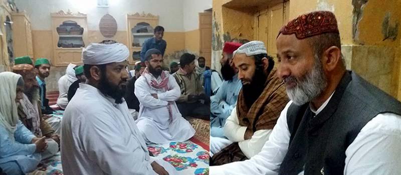 سندھ: تحریک منہاج القران گمبٹ کا اجلاس