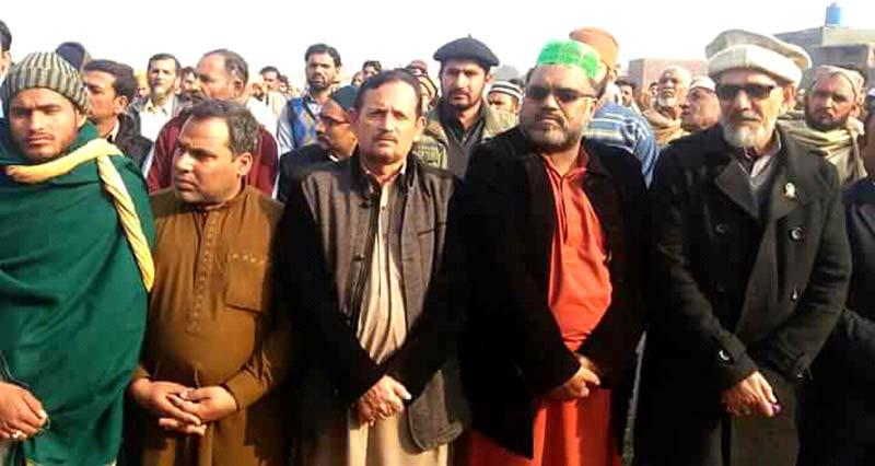 اسسٹنٹ ڈائریکٹر DFA محمد وسیم افضل قادری کے والد گرامی  کی نماز جنازہ