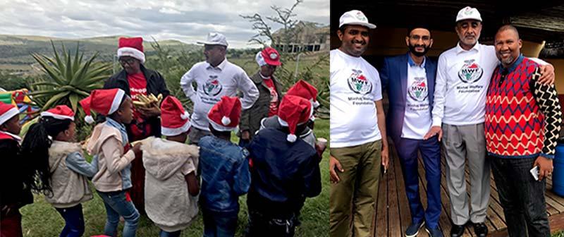 نیلسن منڈیلا کے آبائی گاؤں 'ماویزو' میں کرسمس کی تقریب