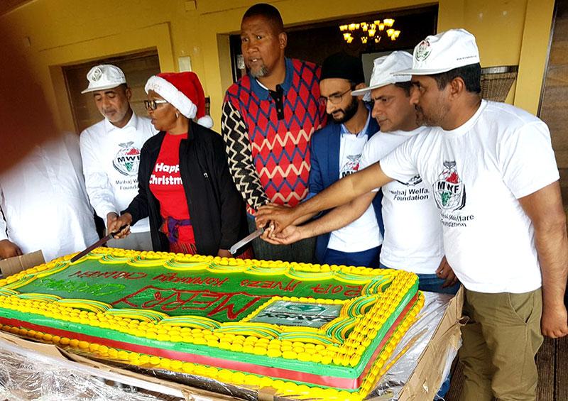 ساؤتھ افریقہ: MWF کی کرسمس کے موقع پر نیلسن منڈیلا کے آبائی علاقہ ماویزو میں خصوصی تقریب