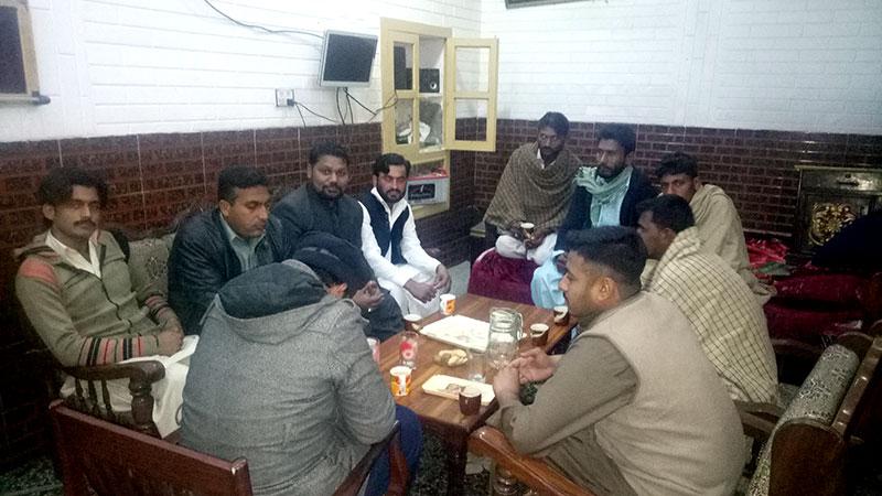 جہلم: منہاج یوتھ لیگ کے عہدیداران کا ضلع جہلم کا دورہ