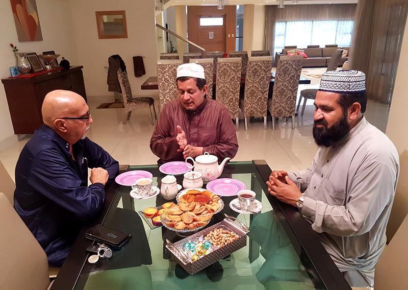 منہاج القرآن ساؤتھ افریقہ کے عہدیداران کی چیئرمین جمعہ مسجد اے وی محمد سے ملاقات