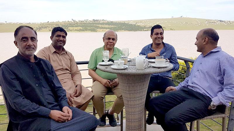جنوبی افریقہ: پاکستانی ہائی کمشنر سے منہاج القرآن کے عہدیداران کی ملاقات