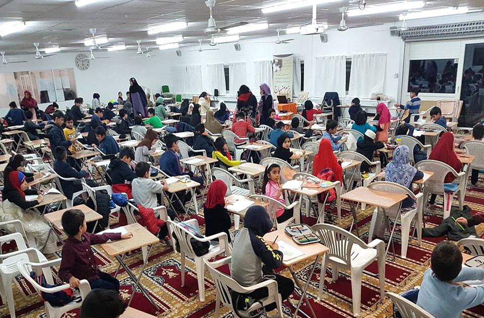 ڈنمارک: منہاج سکول آف اسلامک سائنسز کے سمسٹر امتحانات 2017