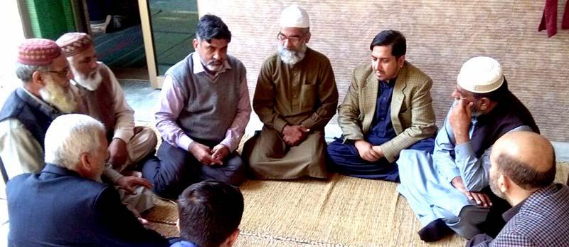 منہاج القرآن کے وفد کی قصور میں معصوم زینب کے والد امین انصاری سے ملاقات