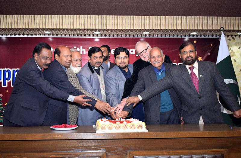 منہاج یونیورسٹی لاہور کے زیراہتمام کرسمس اور سال نو کی تقریب