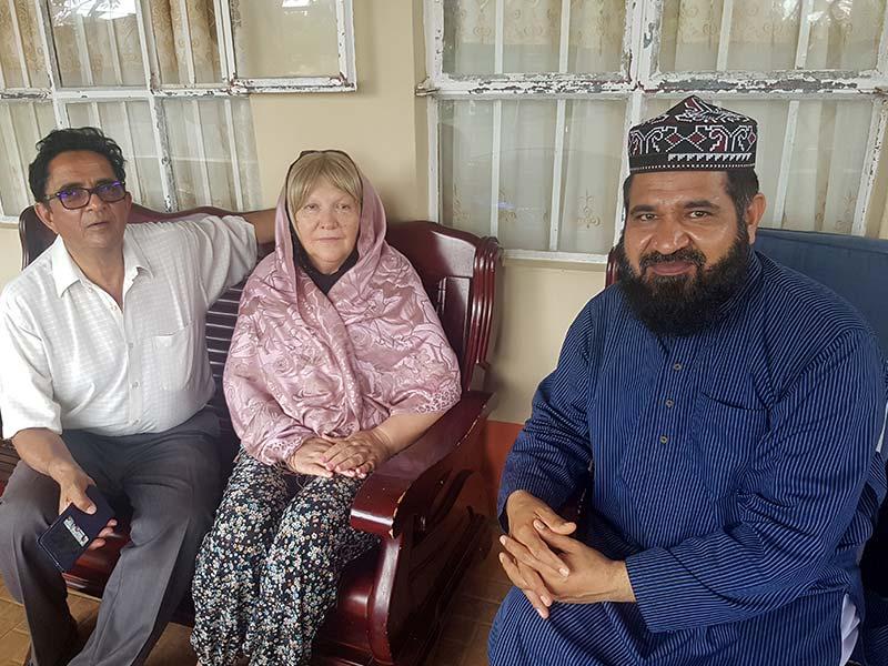 موریشس میں خاتون کا قبولِ اسلام