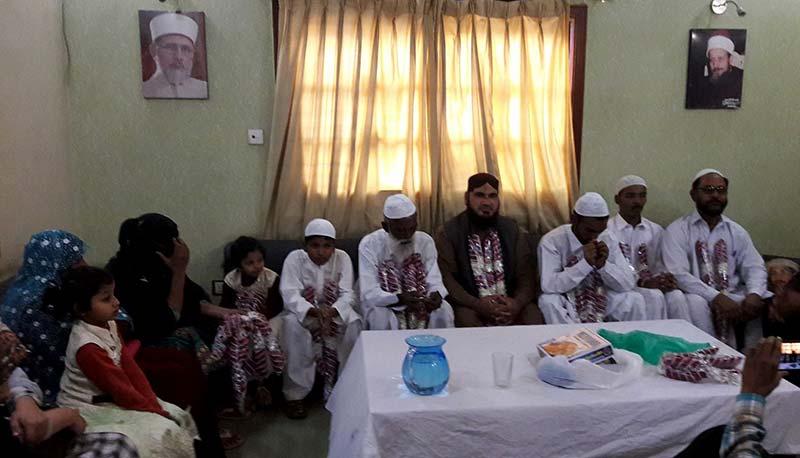 کراچی: 6 عیسائی افراد کا منہاج القرآن سیکریٹریٹ میں اسلام قبول