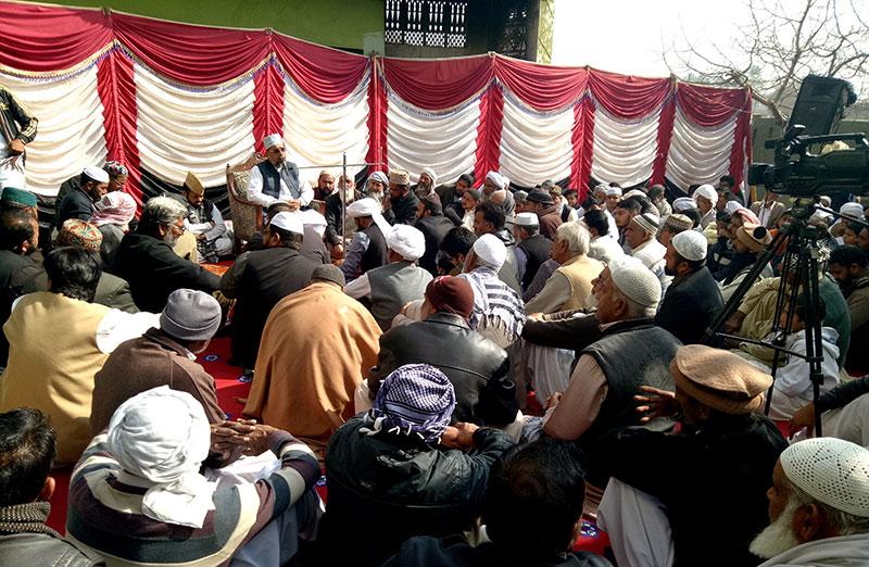 گوجرخان: تنویر پاشا کے والد حاجی پنوں خان مرحوم کی رسم چہلم
