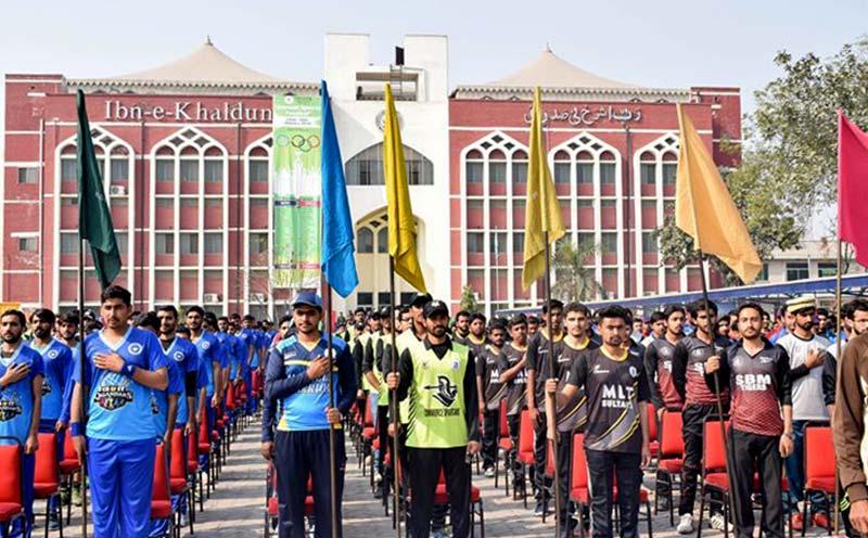 منہاج یونیورسٹی لاہور میں 6 روزہ سپورٹس فیسٹول کی اختتامی تقریب بدھ کو ہو گی