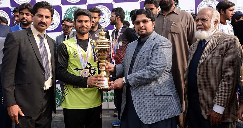 منہاج یونیورسٹی لاہور کے سپورٹس فیسٹیول 2018 کی اختتامی تقریب