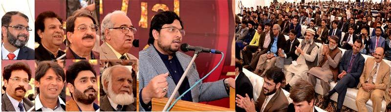 منہاج یونیورسٹی لاہور کی طلباء کے اعزاز میں سالانہ ڈنر تقریب