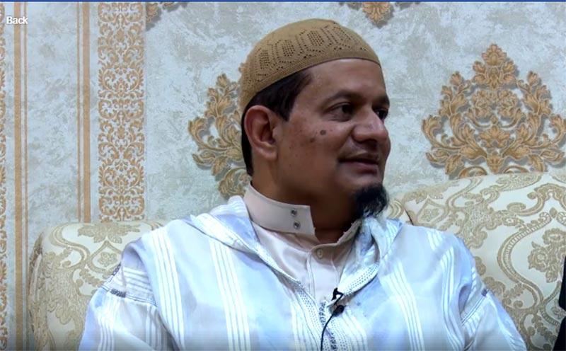 بیرسٹر اسماعیل خطیب کی ڈاکٹر طاہرالقادری سے ملاقات