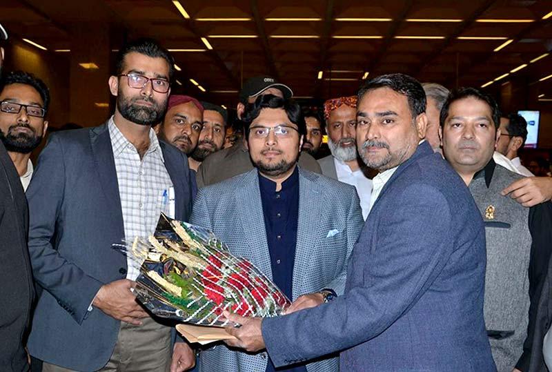 ڈاکٹر حسین محی الدین قادری کا دورہ کراچی