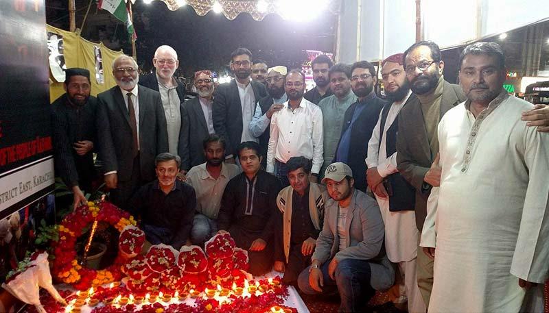 PAT کراچی کے زیراہتمام یوم یکجہتی کشمیر کیمپ