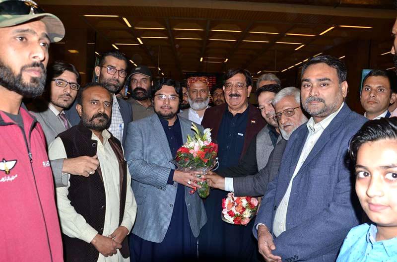 Dr Hussain Mohi-ud-Din Qadri visits Karachi