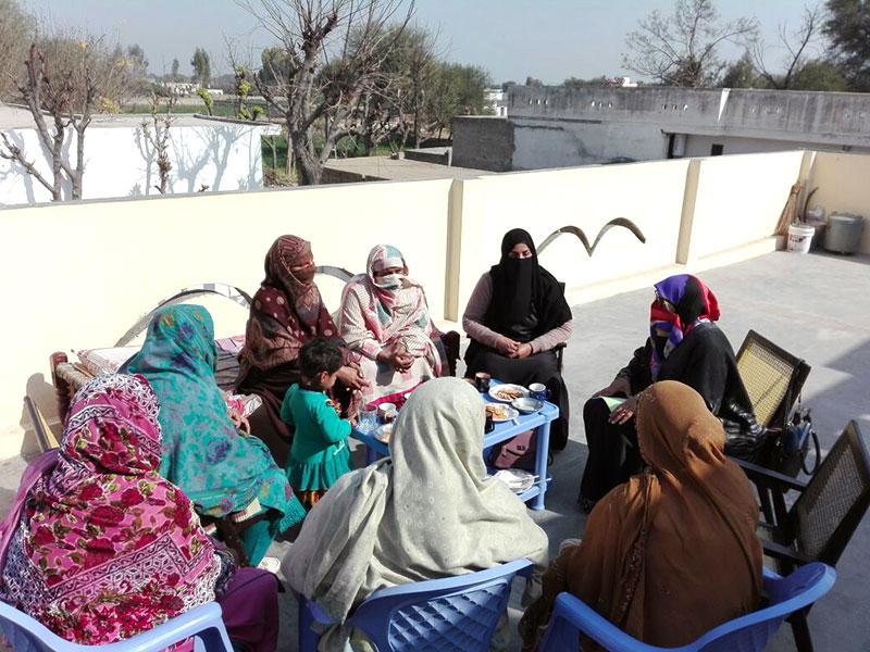 جہلم : منہاج القرآن ویمن لیگ کی ممبر سازی مہم