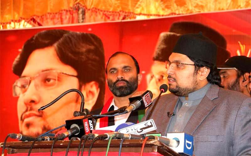 این اے 54 اسلام آباد میں عوامی تحریک کے امیدوار راجہ منیر اعجاز کا انتخابی جلسہ