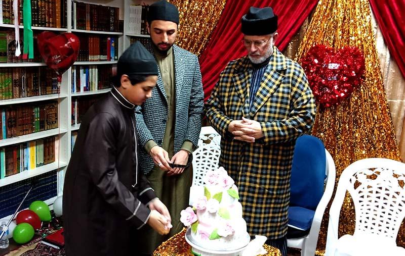 ڈاکٹر طاہرالقادری کی 67 ویں سالگرہ پر کینیڈا میں تقریب