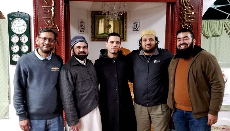 منہاج القرآن النور اسلامک سینٹر میں مسیحی نوجوان کا قبول اسلام